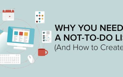 You need to make a not-to-do list: Here's why.